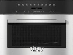Miele M 7140 TC built-in microwave oven stainless steel, free ship Worldwide