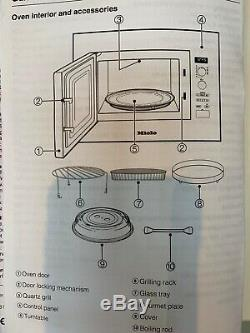 Miele Microwave Automatic Cooking Combination Grill Oven integrated