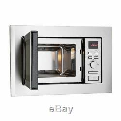 Montpellier MWBI17-300 Built In Slim Depth 700W, 17 Litre Solo Microwave