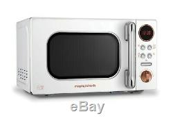 Morphy Richards 511504 20L Microwave White Rose Gold