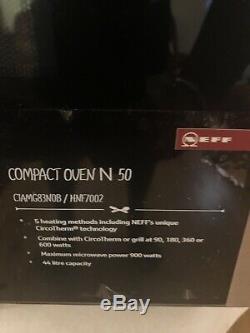 N50 NEFF C1AMG83N0B Built In Microwave Oven Stainless Steel Ex Display New 45 Cm
