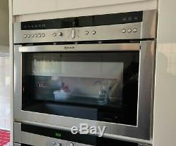 NEFF 1000w Microwave combination oven Stainless steel C57M70N0GB