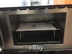 NEFF C17GR00N0B Built-in Microwave with Grill Stainless Steel