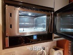 NEFF C17GR01N0B 900 Watt Microwave Built In / integrated, Stainless Steel unused