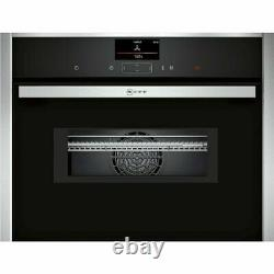 NEFF C17MS32H0B N90 Compact Combination Microwave Oven With Touch Controls