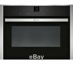 NEFF C17UR02N0B Built-in Solo Microwave Stainless Steel Grade A