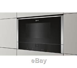 NEFF C17WR00N0B Built-In Solo Microwave Stainless Steel