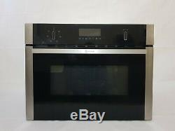 NEFF C1AMG83N0B Built-in Combination Microwave Stainless Steel