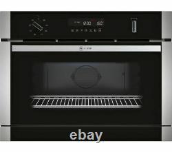 NEFF C1APG64N0B Built-in Combination Microwave Stainless Steel Steam cooking