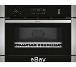 NEFF C1APG64N0B Built-in Integrated Combination Microwave Oven, RRP £890