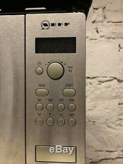NEFF H53W50N3GB Built-in Solo Microwave Stainless Steel