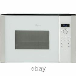 NEFF HLAWD53W0B Built In 900 Watt Combination Microwave White