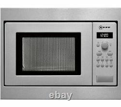 NEFF N30 H53W50N3GB Built-in Solo Microwave Stainless Steel, RRP £329