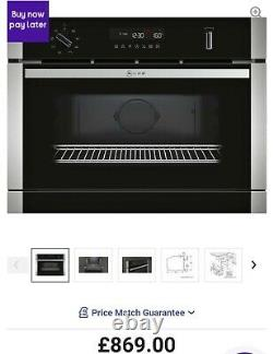 NEFF N50 C1AMG84N0B Built In Combination Microwave Oven