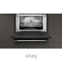 NEFF N50 C1AMG84N0B Built In Combination Microwave Oven Stainless Steel
