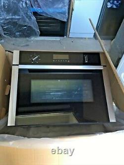 NEFF N50 C1AMG84N0B Built-in Combination Microwave Stainless Steel, 900 W