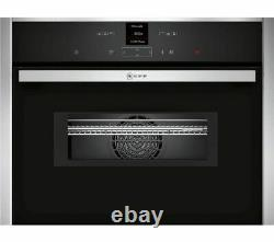 NEFF N70 C17MR02N0B Built-in Compact Combination Microwave Oven, RRP £569