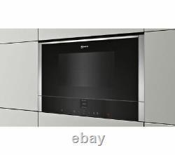 NEFF N70 C17WR00N0B Built-In Solo Microwave Stainless Steel