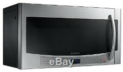 NEW Samsung ME21F606MJT 2.1 Cu Ft Over the Range Microwave Oven Stainless