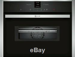 N 70 Built-in compact oven with microwave function Stainless steel C17MR02N0B