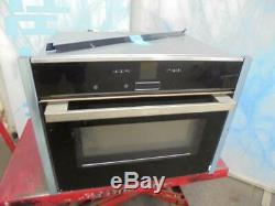 Neff C17MR02N0B Built in Single Oven with Microwave Stainless Steel FA8901