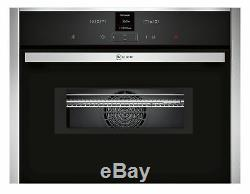 Neff C17MR02N0B Compact Oven with Microwave Stainless Steel