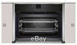 Neff C17MR02NOB Built In Compact Oven & Combination Microwave Stainless Steel