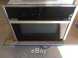 Neff C17UR02N0B Premium Collection 3 Built in Microwave Stainless Steel HA2164