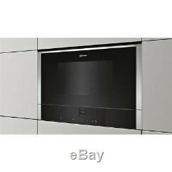 Neff C17WR01N0B Built In Microwave Oven with Grill stainless steel RRP £554