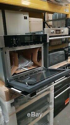 Neff C1AMG83N0B Built-In Compact Oven with Microwave & Grill, Stainless Steel