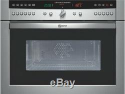 Neff C67M70N0GB Built-in Combination Microwave, Refurbished With Warranty