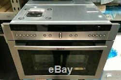 Neff C67M70N3GB Built-in Combination Microwave, Stainless Steel (M165)