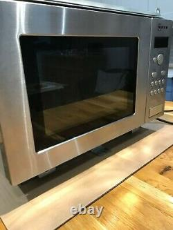 Neff H53W50N3GB Built-in Microwave fits into wall unit Stainless Steel