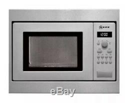 Neff H53W50N3GB Integrated Microwave Stainless Steel
