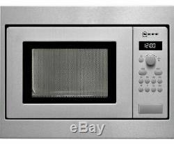 Neff HW 5350 N Built in Microwave-Stainless Steel 17L 800W 50cm