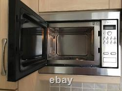 Neff Stainless Steel 900w integrated microwave oven