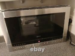 Neff built in microwave stainless steel (900W) N54L70N3GB hardly used