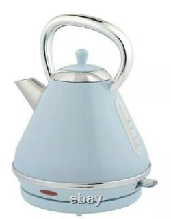 New My 4 Slice Toaster 1.7l Pyramid Design Kettle & 20l Microwave Set Duck Egg