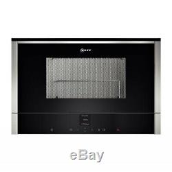 New Neff C17GR00N0B N70 900W 21L Built-in Microwave With Grill Stainless Steel