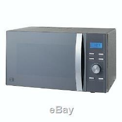 New Sparkle Grey Kettle, 4 Slice Sparkle Grey Toaster Kettel & Microwave Set