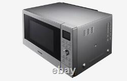 PANASONIC 3 in 1 Combi 1000W Microwave, Stainless Steel, 27litre NN-CD58JSBPQ