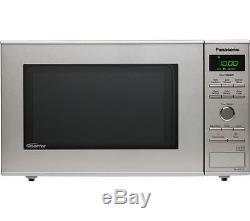 PANASONIC NN-SD27HSBPQ Solo Microwave 10 auto programs 1000 W Stainless Steel