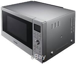 Panasonic 1000W Combination Microwave NN-CD58JSBPQ Steel