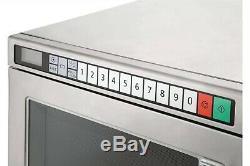 Panasonic NE1853 Heavy Duty Programmable 1800W Microwave Oven (Boxed New)