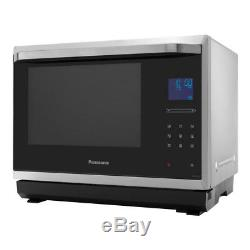 Panasonic NNCF873SBPQ 32L 1000w Combination Microwave with FlatBed Design