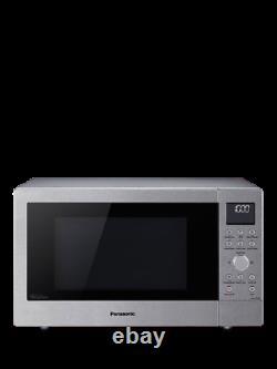 Panasonic NN-CD58JSBPQ 27L Slimline Combination Microwave Oven, Stainless Steel