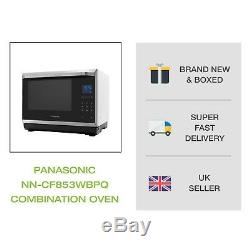 Panasonic NN-CF853WBPQ Premium Combination Microwave Oven