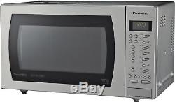 Panasonic NN-CT579S Slimline 27L Combi Microwave Stainless Steel 1000W Argos