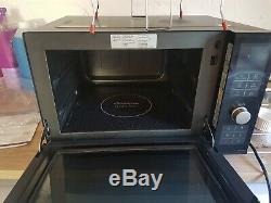 Panasonic NN-DF386B Combination Flatbed Microwave Black EX DISPLAY