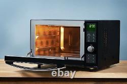 Panasonic NN-DF386 1000W 23L Flat Bed Combination Microwave Black